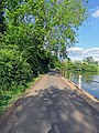 Access road from St Mary's Church, Matching, Essex England 02.jpg