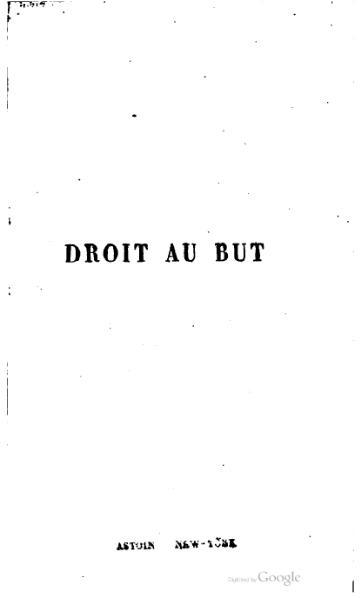 File:Achard - Droit au but, Lévy frères, 1874.djvu