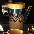Achille luciano mauzan per laboratorio nuova ceramica romana, servizio da caffè, 1921, 02.jpg
