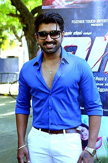 Actor Arun Vijay at Vaa Press Meet.jpg