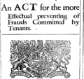 Acts and statutes made in a Parliament begun at Dublin, the twelfth day of November, Anno Dom Fleuron T126993-17.png