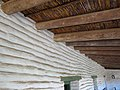 Adobe Wall and Roofbeams - Old Town San Diego State Historic Park - San Diego, CA - USA (6784541940).jpg