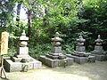 Aduchi castle-織田4代墓塔.jpg