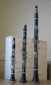 photo : quatre clarinettes