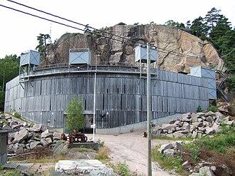 Agder Teater - Agder teater, scene Fjæreheia, Grimstad. Theatre from outside