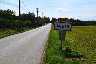 Agnin - The entry to Agnin