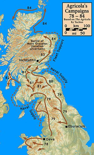 AD 79 - Agricola's Campaigns in Scotland