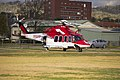 AgustaWestland AW139 (VH-SYZ) operated by Lloyd Off-Shore Helicopters for Ambulance Service of New South Wales as Rescue 24 at the Duke of Kent Oval Helipad (1).jpg