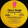 Ain't No Stopping Us Now by McFadden & Whitehead US 12-inch vinyl.jpg