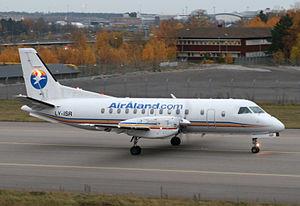 Air Åland - Air Åland Saab 340 at Stockholm-Arlanda Airport