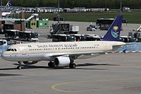 HZ-ASD - A320 - Saudi Arabian Airlines