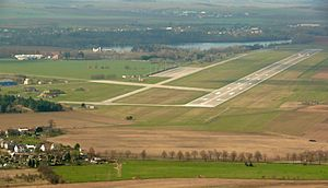 Hradec Králové Airport - Image: Airport Hradec Kralove (LKHK)