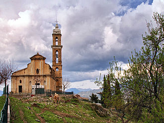 Aiti - Image: Aiti église Saint Etienne