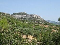 Akropolis Kastri aus OSO