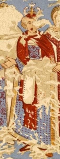 Aksumite king, Qusayr Amra