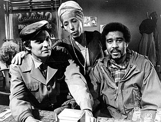 Richard Pryor - Pryor also performed in the Lily Tomlin specials. He is seen here with Tomlin and Alan Alda in Tomlin's 1973 special.