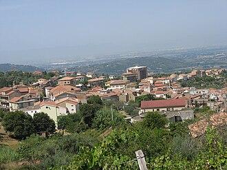 Albanella - Image: Albanella Panorama