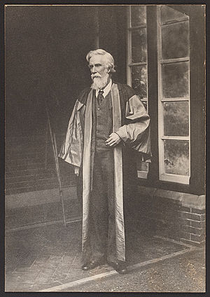 A. V. Dicey - Image: Albert Venn Dicey in academic robes