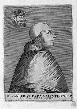 Resultado de imagen de papa alejandro vi