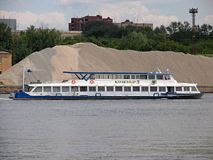 Aleksandr-II on Khimki Reservoir 22-jun-2012 02.JPG