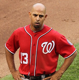 Alex Cora - Cora with the Washington Nationals in 2011