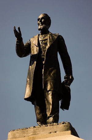 Alexander Mackenzie (politician) - Statue of Alexander Mackenzie on Parliament Hill, Ottawa by Hamilton MacCarthy