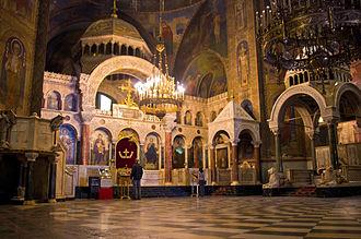 Alexander Nevsky Cathedral, Sofia - Interior
