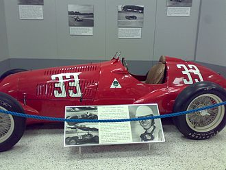 1948 Indianapolis 500 - Image: Alfa Romeo 308