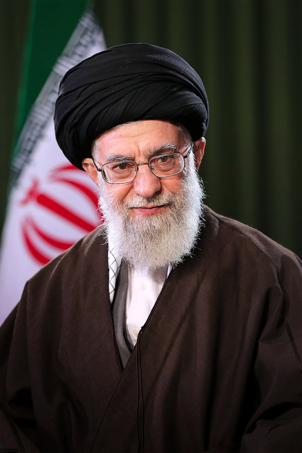Ali Khamenei Nowruz message official portrait 1397 02