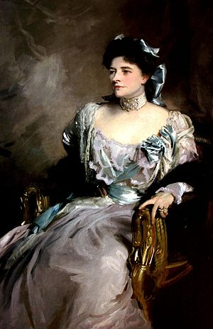 Julius Wernher - Alice, Lady WernherJohn Singer Sargent 1902 Oil on canvas 148 x 98 cm.