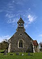 All Saints' Church, High Roding, Essex, England - from the west.jpg