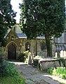 All Saints Church - the north porch - geograph.org.uk - 1267386.jpg
