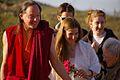 Allegra greeting Geshe Michael and Lama Christie.jpg