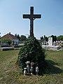 Alszegi cemetery, cross, 2019 Kunszentmiklós.jpg