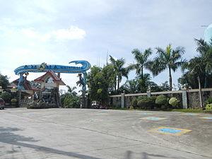 Pandi, Bulacan - Amana Waterpark facade