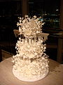 Amazing wedding cake, February 2008.jpg