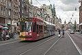 Amsterdam GVB Combino 2098 (buurtentram) Damrak (29288886201).jpg