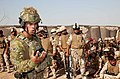 An Australian army trainer briefs Iraqi security forces on their tasks during close quarters combat training at Camp Taji, Iraq, July 1, 2017.jpg