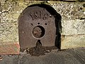 An old well plate at Greenlaw - geograph.org.uk - 1567488.jpg