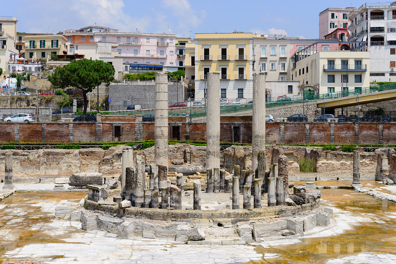 Pozzuoli Italy  city photos gallery : ... Serapis temple Pozzuoli Campania Italy July 11th 2013 02
