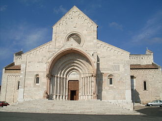 Dasius of Durostorum - Ancona Cathedral in Italy, the resting place of Dasius's remains