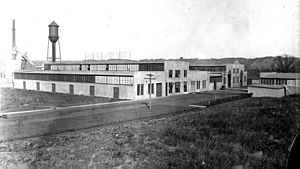 Andersen Corporation - With no more room for expansion at the Hudson plant, Andersen builds a new factory in 1913 in South Stillwater (now Bayport), Minnesota.