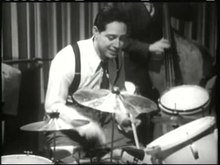 File:Andy Russell Drum Solo from The Stork Club 1945.ogv
