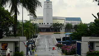 Anglo-Chinese School (Independent) - The clock tower