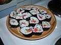 Annie's first sushi.jpg