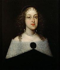 Erzherzogin Isabella Klara (1629-1685) in schwarzem Kleid, Brustbild