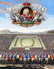 Wahl Augusts III. zum polnischen König (Quelle: Wikimedia)