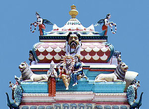 Coastal Andhra - Antarvedi temple on the banks of Godavari in Andhra Pradesh.