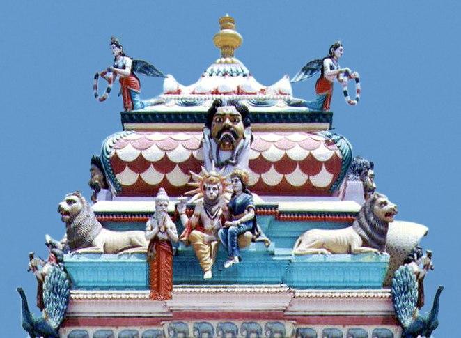 Antarvedi temple on the banks of Godavari in Andhra pradesh