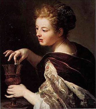 Anthoni Schoonjans - Image: Anthon Schoonjans Cleopatra puts a pearl in the wine